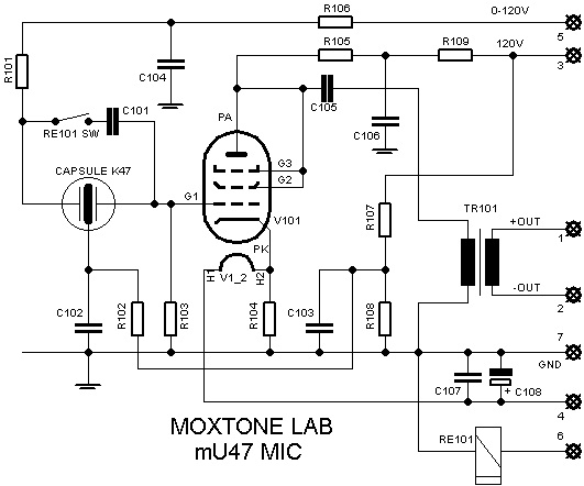 journey into the legend of the u47 mu47 microphone schematic