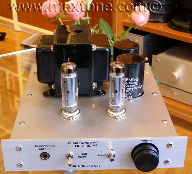 Phonemox headphone amplifier